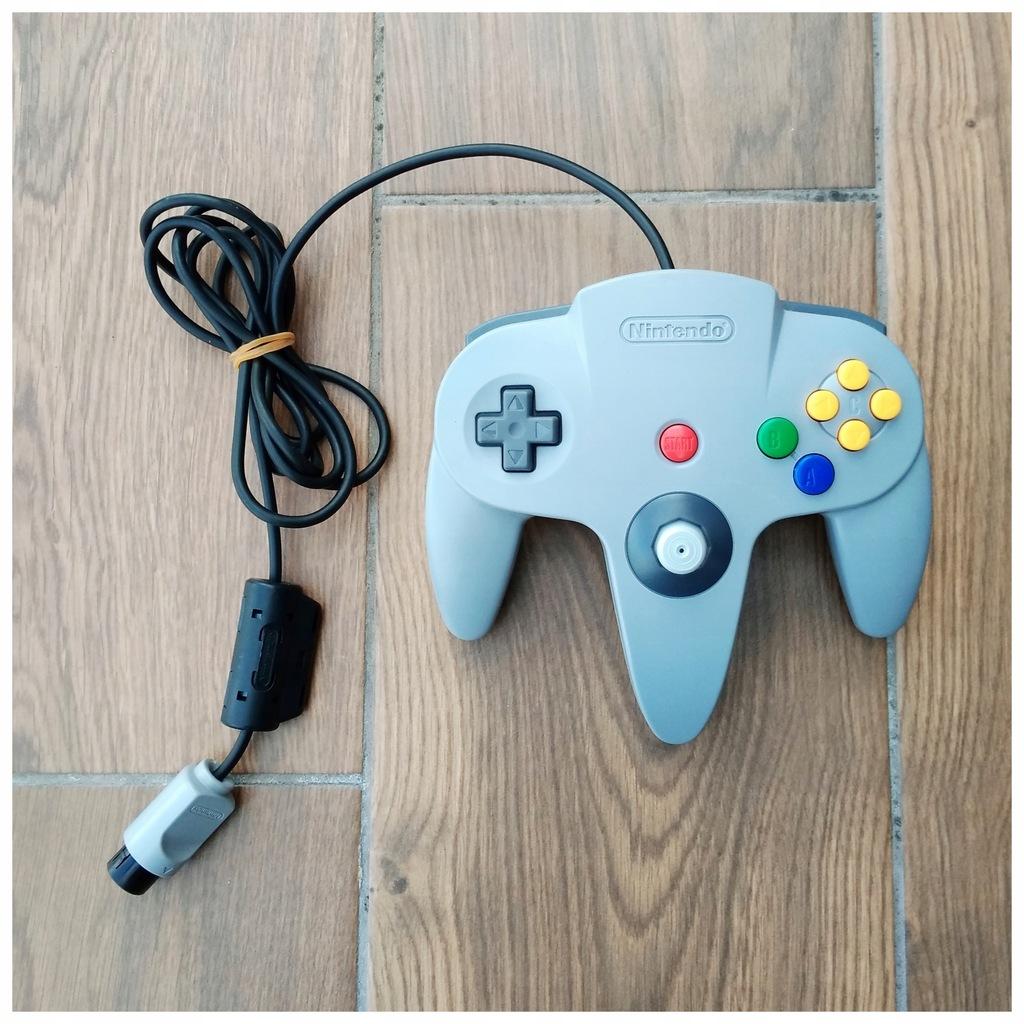 Pad Nintendo 64 oryginał + analog GC