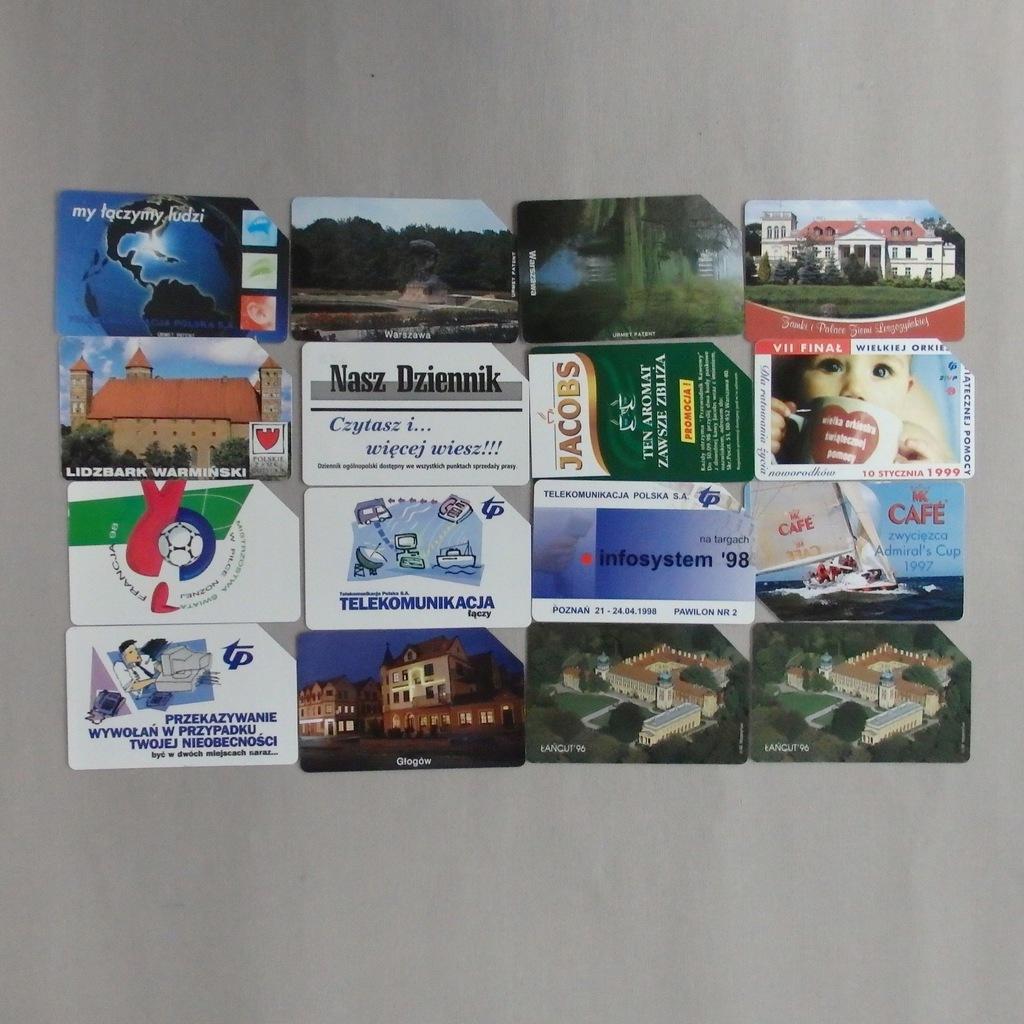 Zestaw kart telefonicznych PolskaMIX BCM(143E)(RZ)
