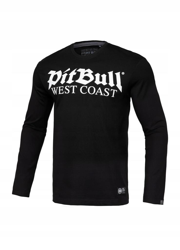 Longsleeve Old Logo Pit Bull (3XL) czarny
