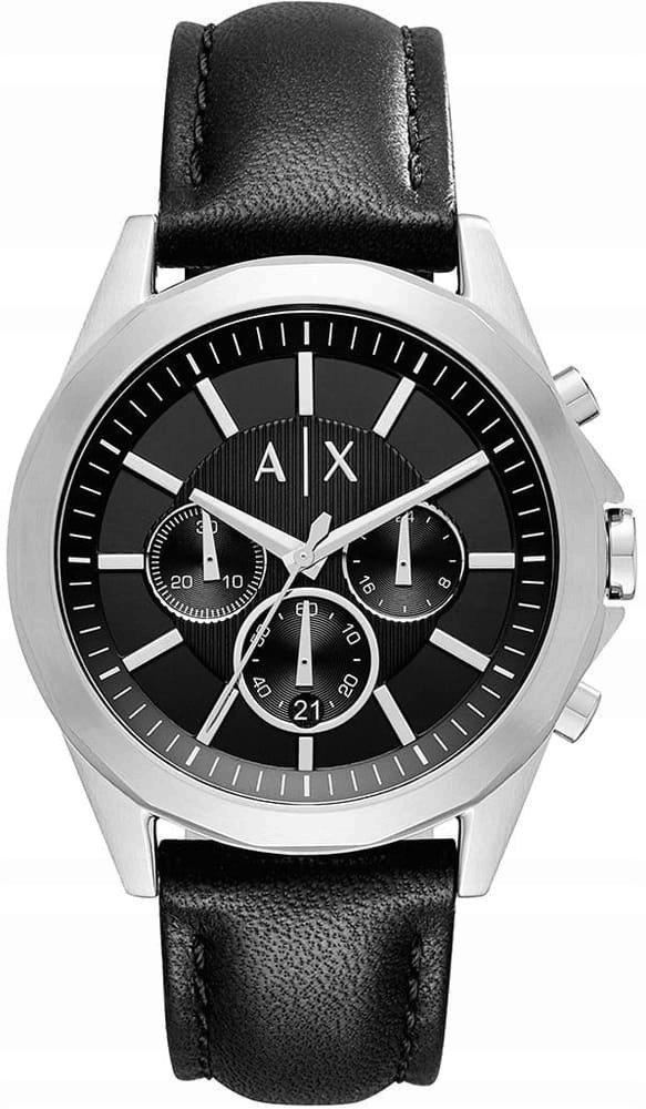 Zegarek ARMANI EXCHANGE AX2604 męski skórzany