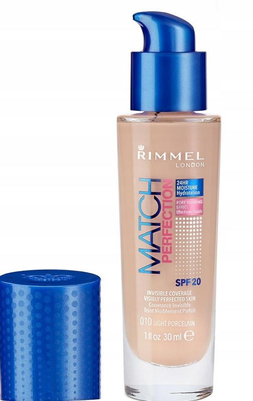 Rimmel Match Perfection 010 Light Porcelain 30ml
