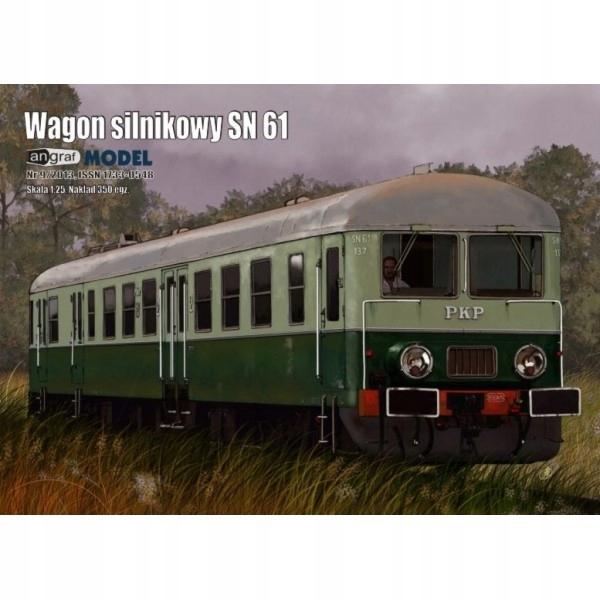 Wagon motorowy SN61, Angraf Model, 1/25