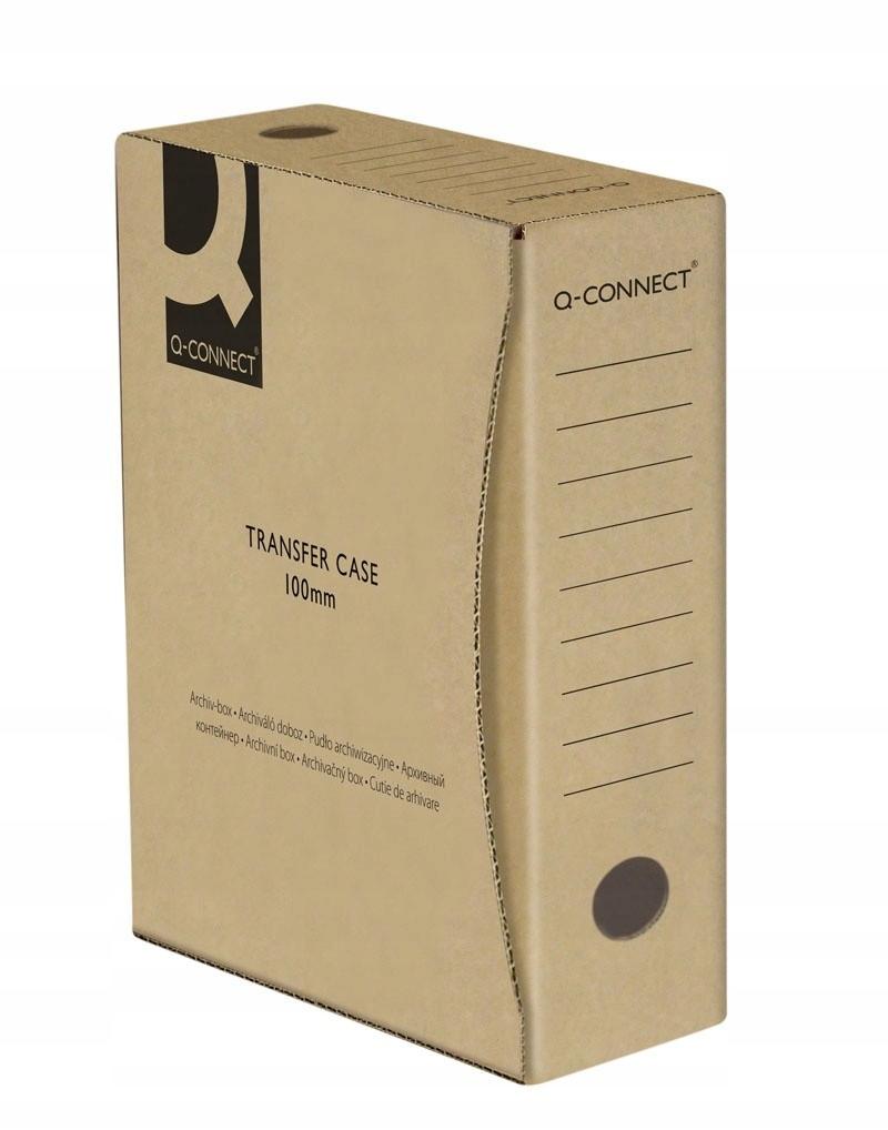 Pudło archiwizacyjne Q-Connect A4/100mm szare