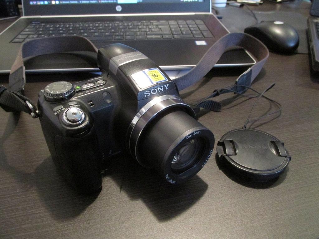 aparat sony DSC-H5