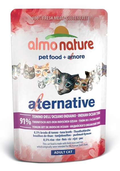 ALMO NATURE ALTERNATIVE tuńczyk z oceanu ind. 55g