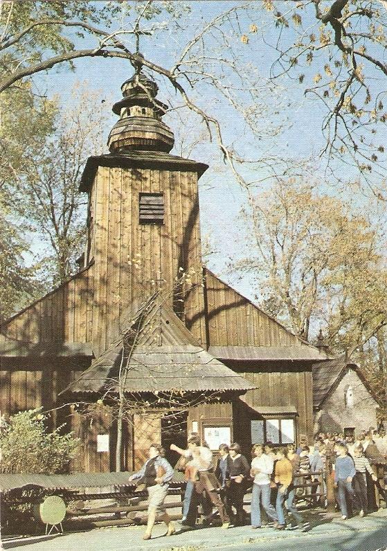 ZAKOPANE - KOŚCIÓŁ ŚW. KLEMENSA - 1985R
