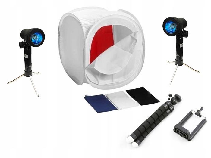 ZESTAW Studio Fotografii Produktowej do Smartfona