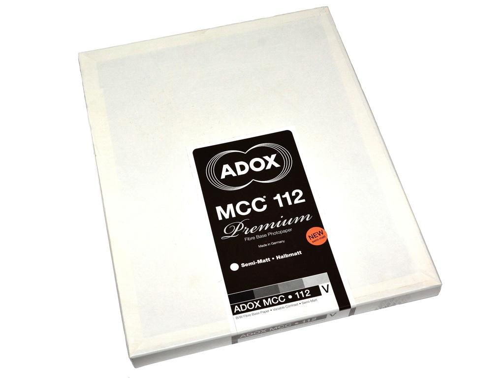 Adox MCC 112 papier baryt 20x30/25 wielogradacyjny