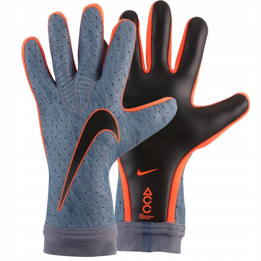 Rękawice Nike Goalkeeper Mercurial Touch niebieski