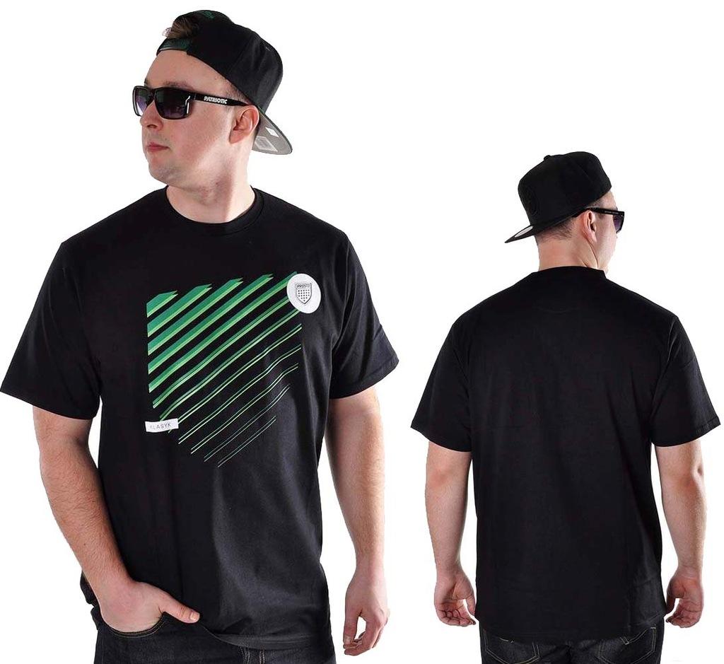 Koszulka M Prosto Klasyk SHUTT czarna t-shirt