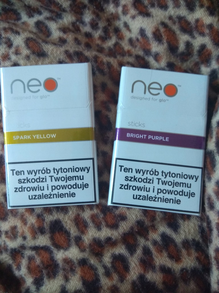Neo Sticks Wklady Do Podgrzewacza Tytoniu Glo Lodz 7929616804 Oficjalne Archiwum Allegro