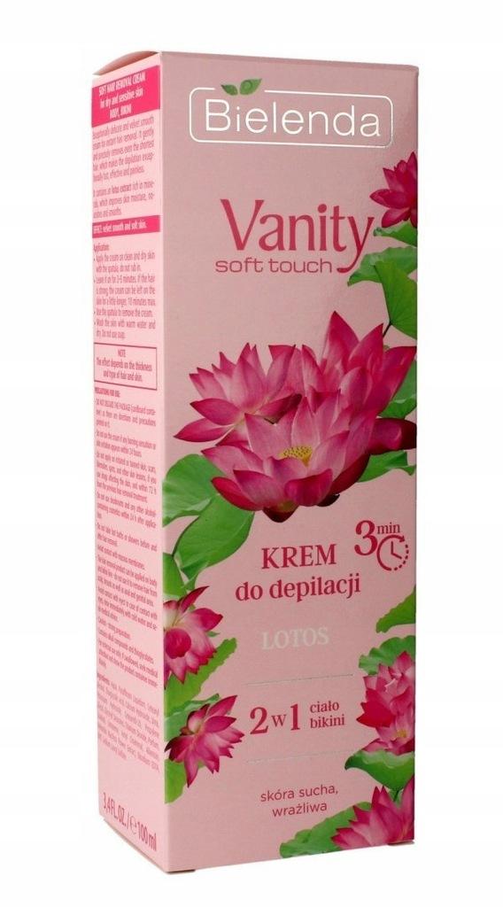 Bielenda Vanity Soft Touch Krem do depilacji 2w1 L