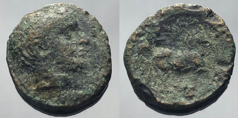 1296.Moneta antyczna - AE(brąz)-do identyfikacji