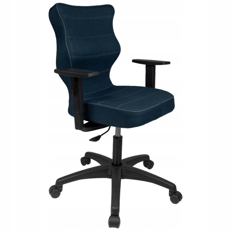 Krzesło DUO black TWIST 24 wzrost 159-188