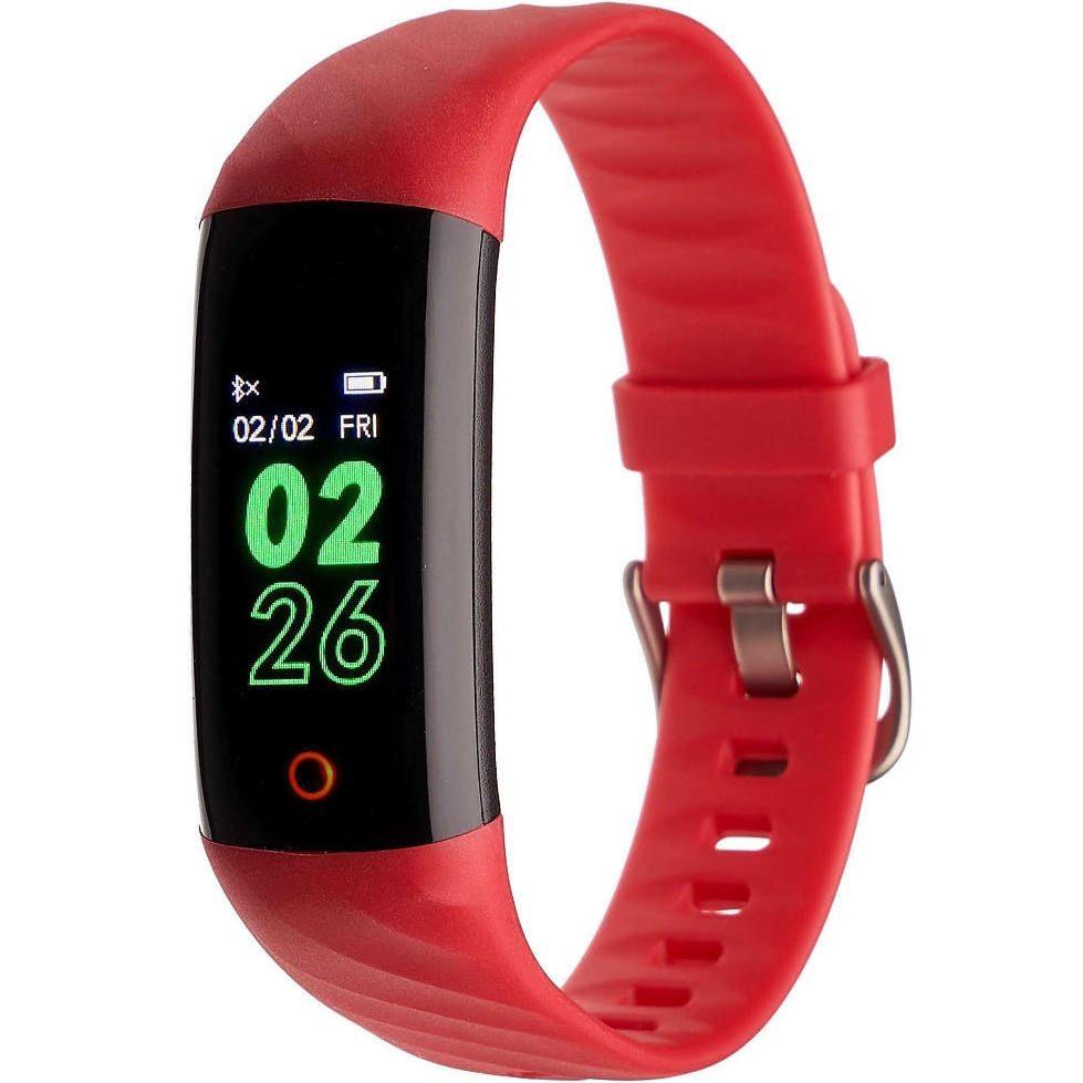 Smartband, Opaska Sportowa Garett Fit 14 czerwony