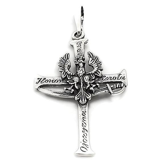 Krzyzyk Z Orlem Bog Honor Ojczyzna 6959120461 Oficjalne Archiwum Allegro