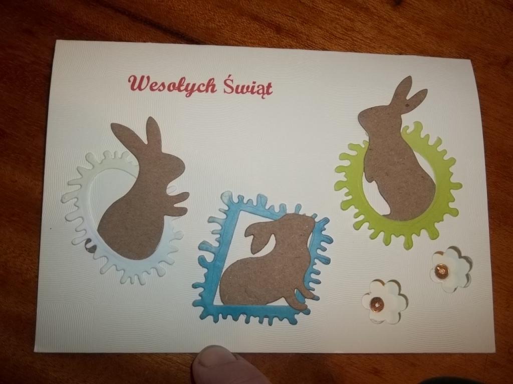 KARTKA Wielkanoc A6 + KOPERTA