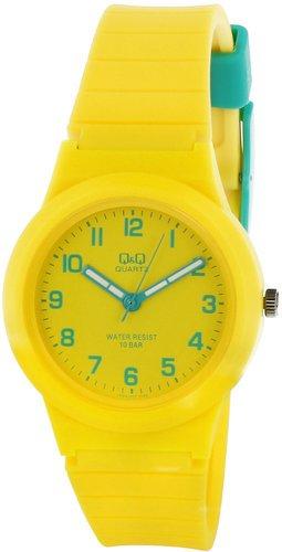 Zegarek dziecięcy Q&Q VR94-801 Żółty 100m