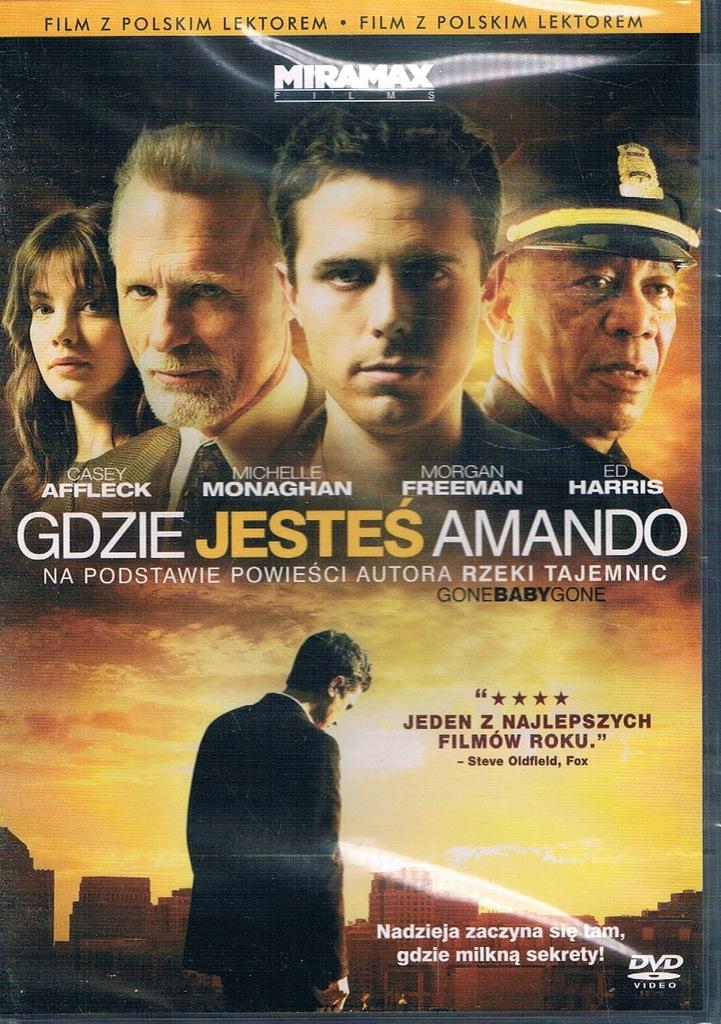GDZIE JESTEŚ AMANDO [DVD]