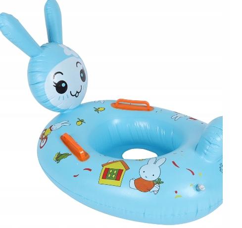 Koło Do Pływania Królik 70cm + Rączki Baby Boat(3)