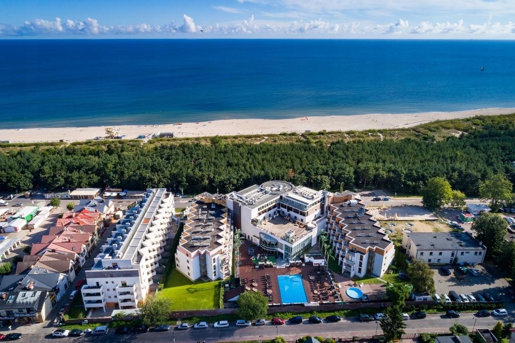 Apartamenty 50m od morza aneksy baseny restauracja