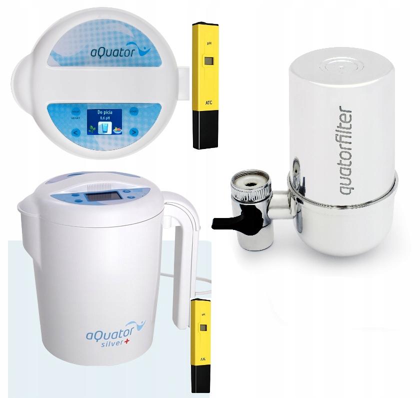 Jonizator Wody Alkalicznej Srebrnej Miernik Ph 8042087809 Oficjalne Archiwum Allegro
