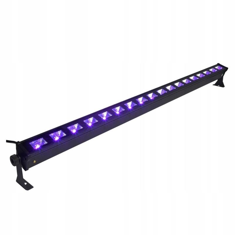 LIGHT4ME LED BAR UV 18 LISTWA 18X3W POWYSTAWOWA