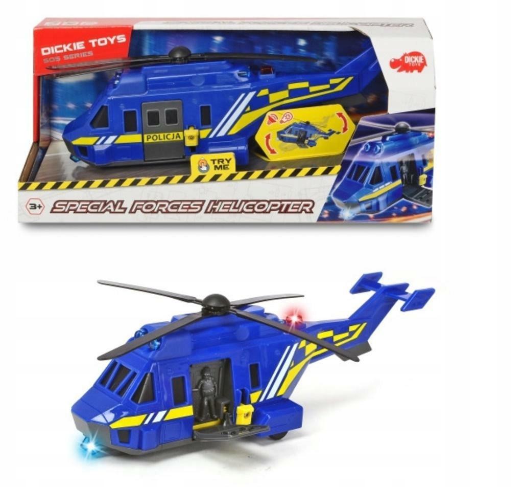 DICKIE TOYS helikopter służb specjalnych