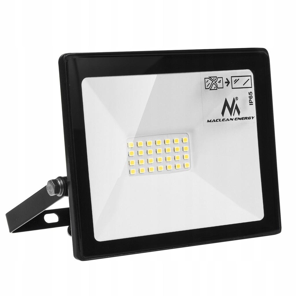 Naświetlacz LED slim 20W, 1600lm Cold White (6000K