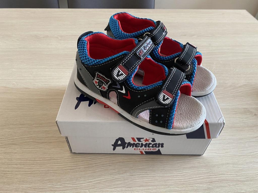 Sandałki AMERICAN CLUB chłopiec roz 26