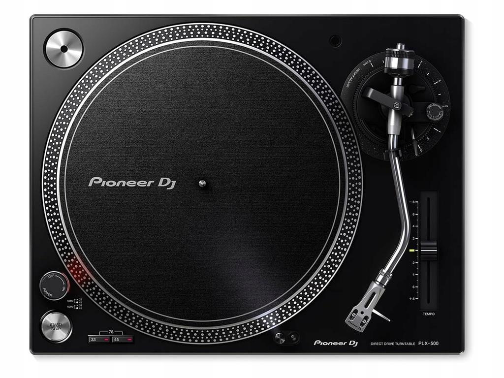 Pioneer PLX-500-K | B-STOCK | Rozpakowywany
