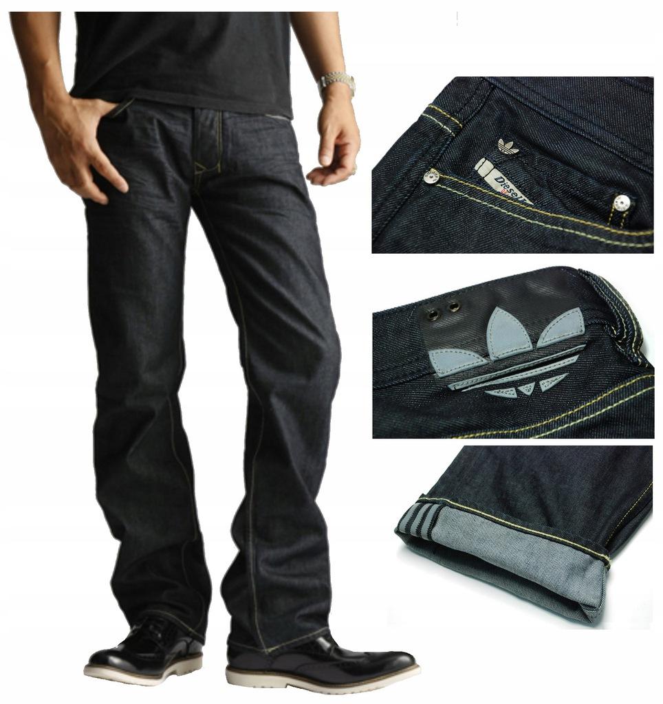 Adidas Larkee Diesel Jeans spodnie męskie W33/L34