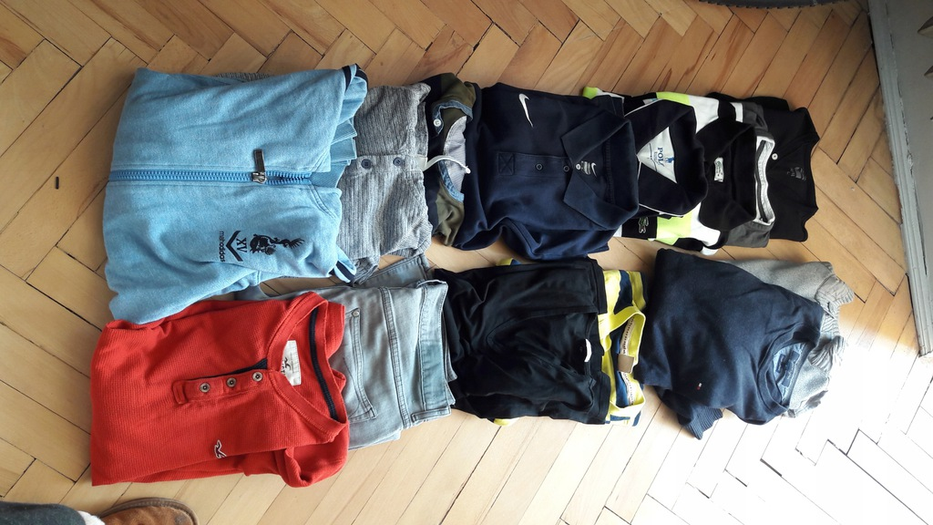 Mega paka Nike Ralph Lauren Lacoste Hollister M/L