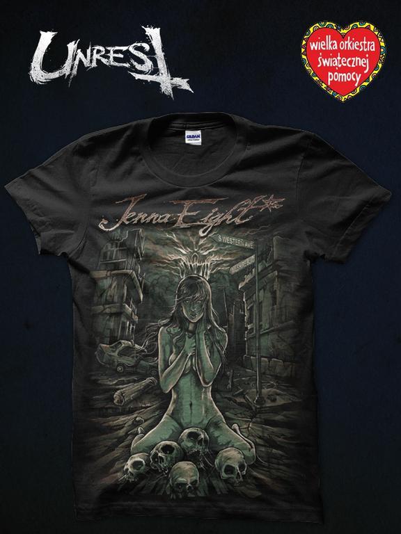 LIMITOWANY tshirt Unrest Clothing Jenna Eight + EP