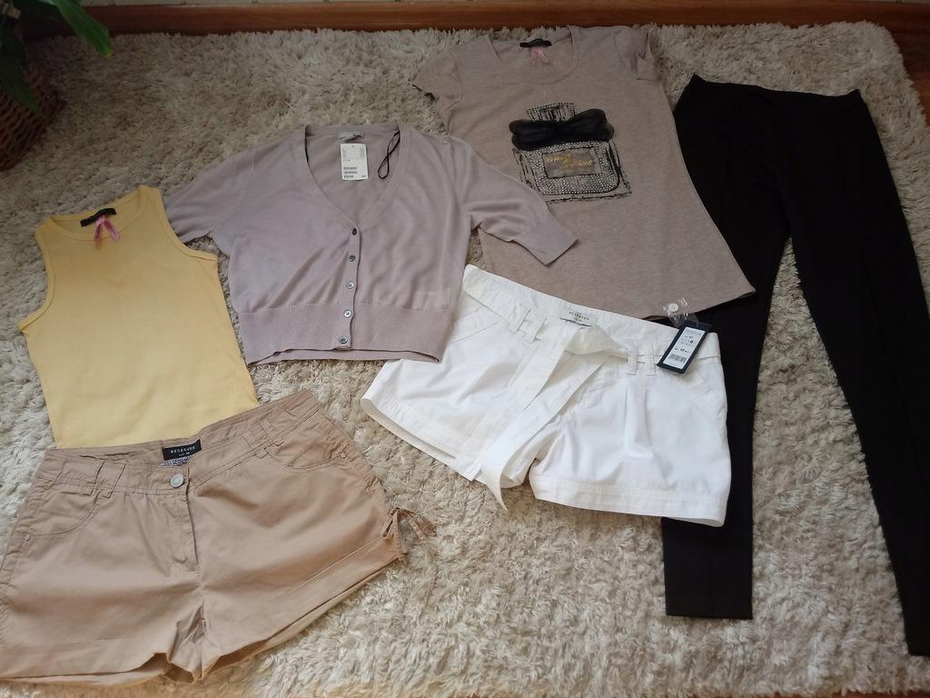 mega paka nowych ubrań Reserved 44 sztuki+ gratisy