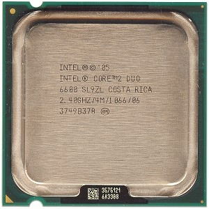 INTEL CORE 6600 SL9ZL 2X 2,4 4M