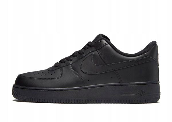 air force niskie czarne obuwie Darmowa dostawa!
