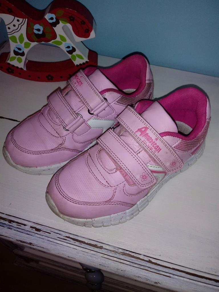 Buty SPORTOWE adidas JESIEŃ Różowe r.31 19,5 cm