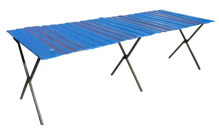 Stół handlowy 1,5 m NAJMOCNIEJSZY- antykorozyjny