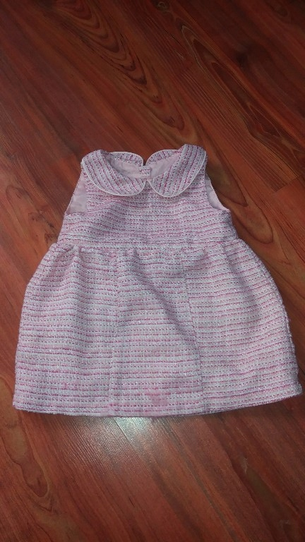 early days sukienka rozowa z kołnierzykiem 74