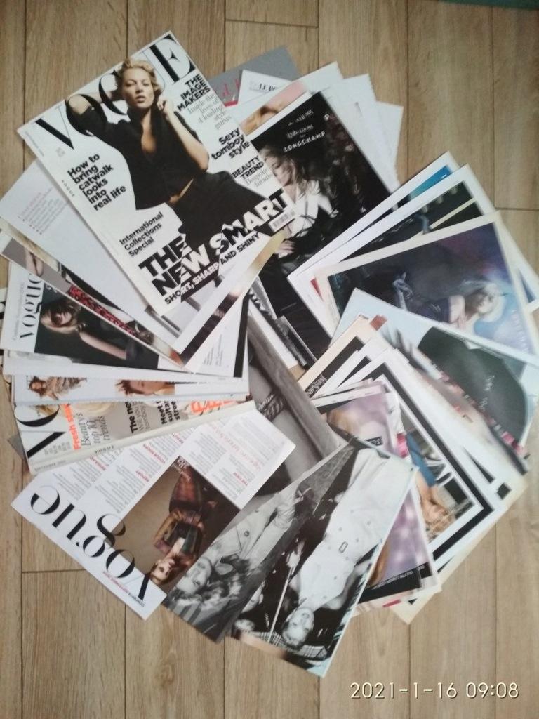 Kate Moss wycinki prasowe