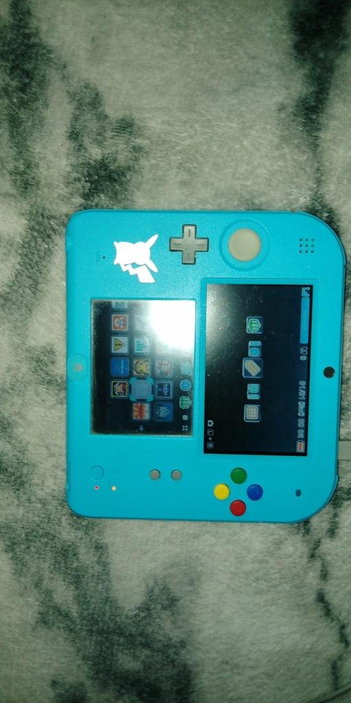 Nintendo 2 DS edycja limitowana Pokemon Sun