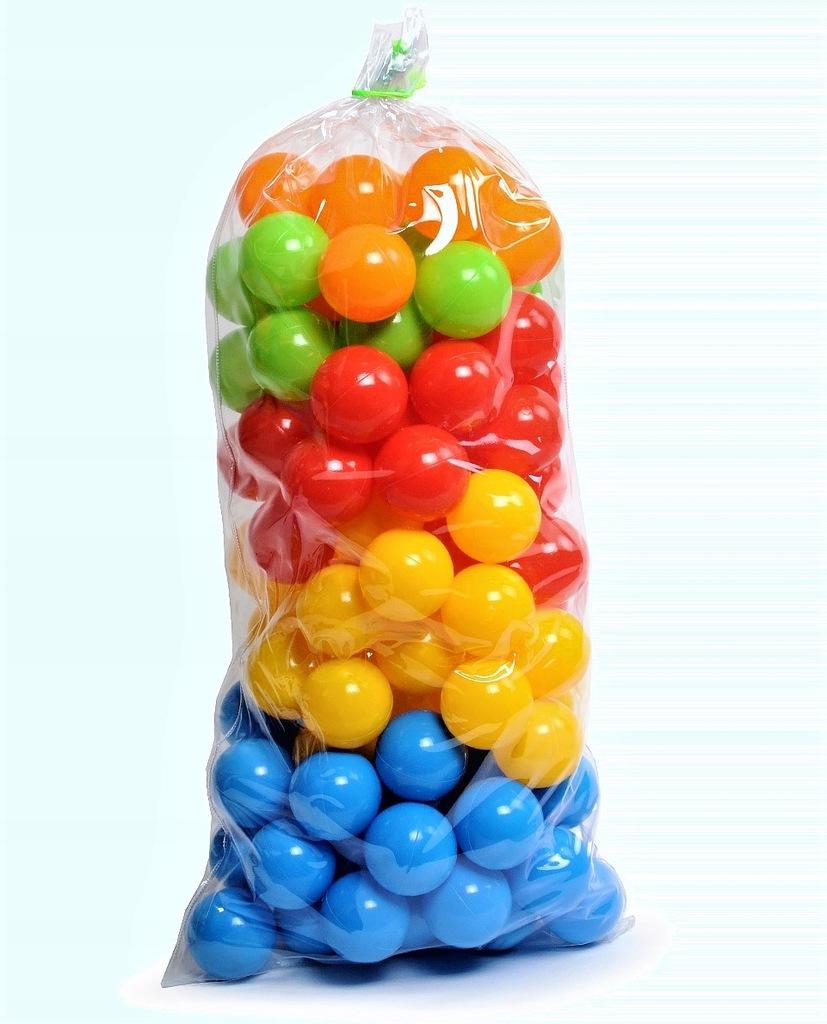 100 /7cm kulki piłki do basenu piłeczki basenowe