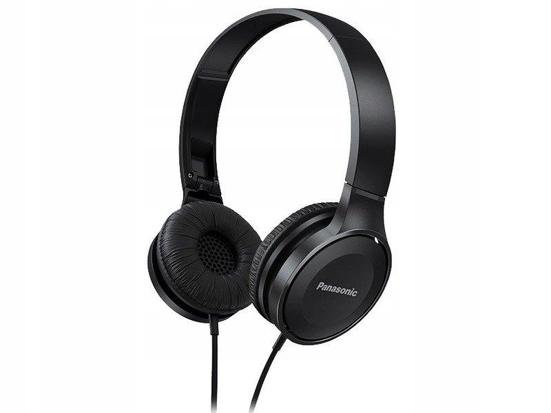 Wygodne słuchawki super dzwięk Panasonic Czarne