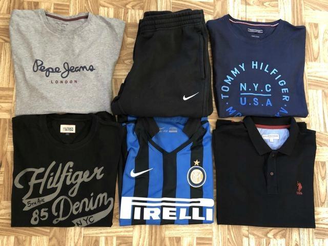Tommy Hilfiger:: Polo::Nike::Pepe Jeans:: Rozm: L