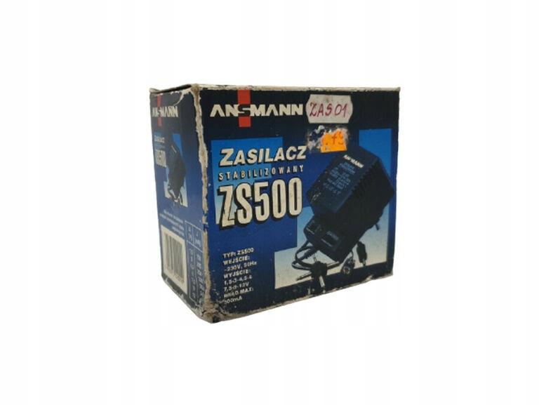 ZASILACZ STABILIZOWANY ANSMANN ZS500