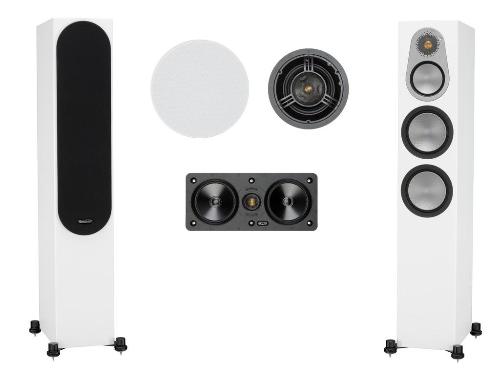 Monitor Audio Silver 300 + W250LCR + C280IDC Lubin