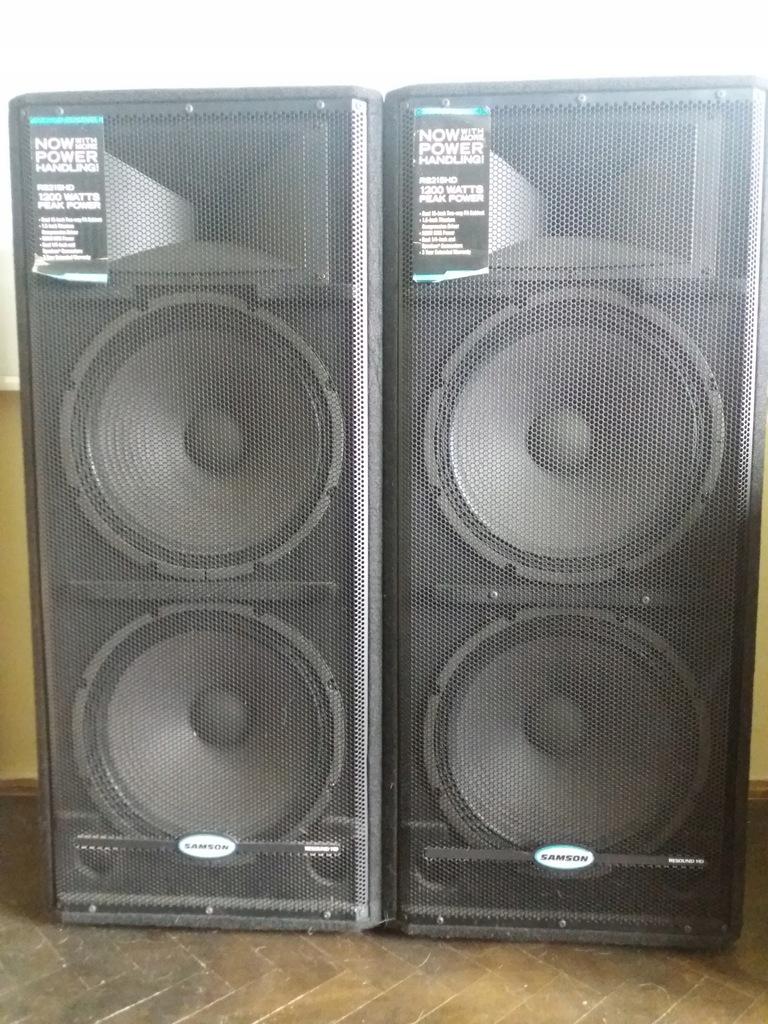kolumny głośnikowe Samson RS215 HD 2-drożna