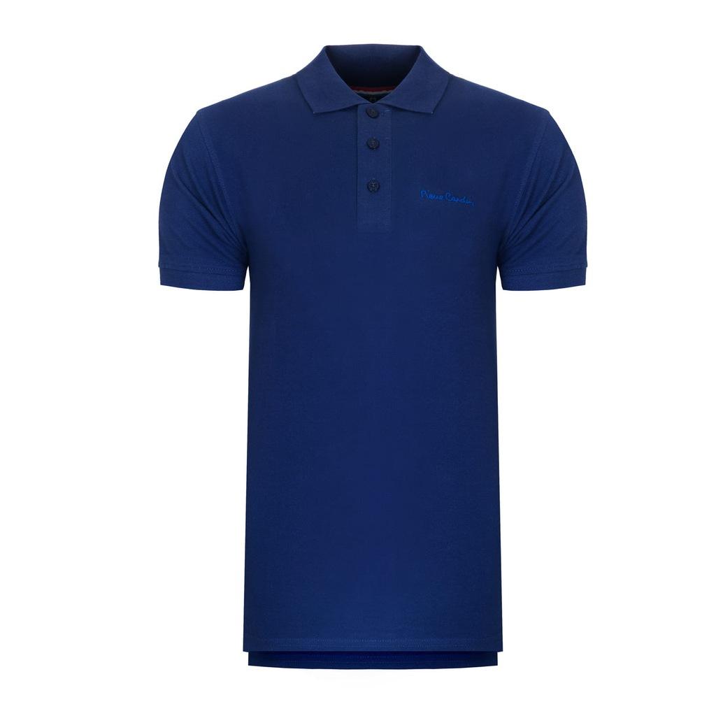 Koszulka polówka POLO PIERRE CARDIN chabrowe S
