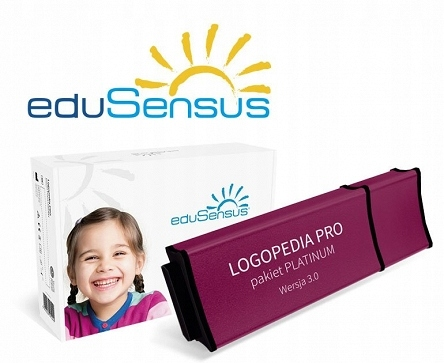 EDUSENSUS LOGOPEDIA PRO - PAKIET PLATINUM